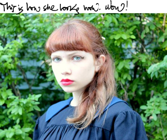 Tavi Gevinson from Style Rookie Fashion blog at 15
