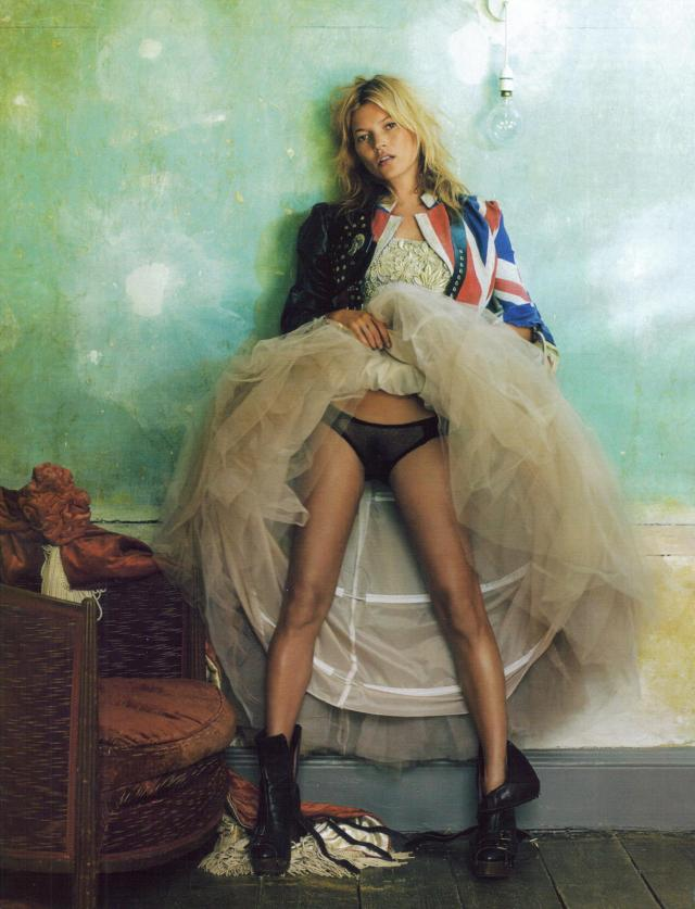 Kate Moss photographed by Mario Testino 1