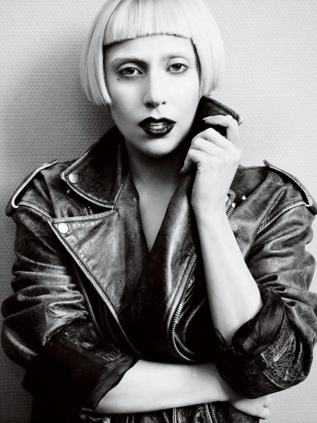 Lady Gaga photographed by Mario Testino for Vogue US March 2011