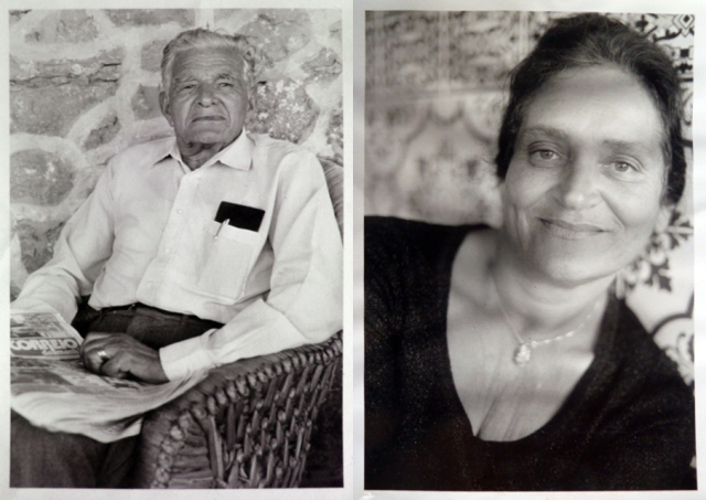 My great grandfather and my grandmother photographed by Mario Testino in Portugal