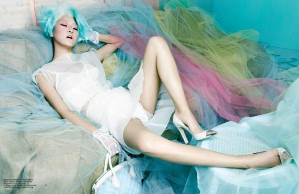 Hong Jang Hyun for W magazine Korea March 2012
