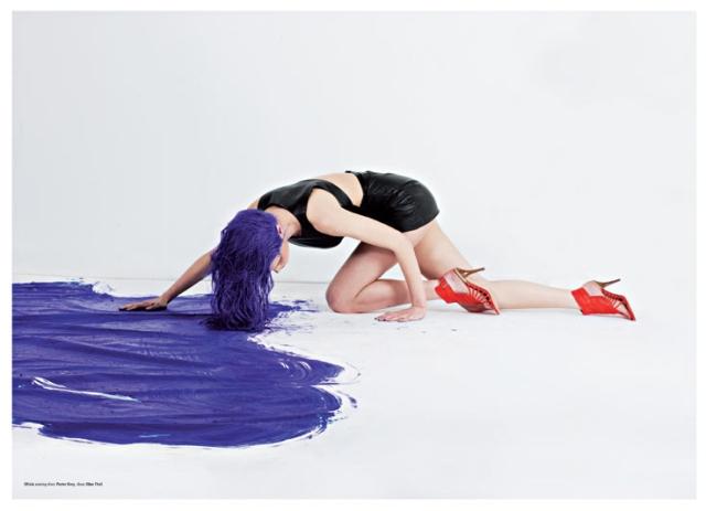 Jana Knauerova, Olivia Gordon and Masha P for Kurv magazine #26