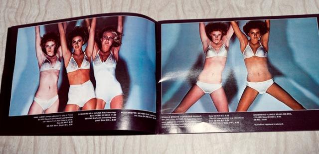 Guy Bourdain 1976 Bloomingdales lingerie catalog