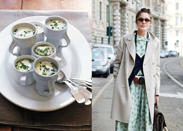 Watercress Soup / The Sartorialist