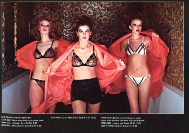 Sighs and Whispers - Bloomingdale's lingerie catalogue photographed by Guy Bourdain