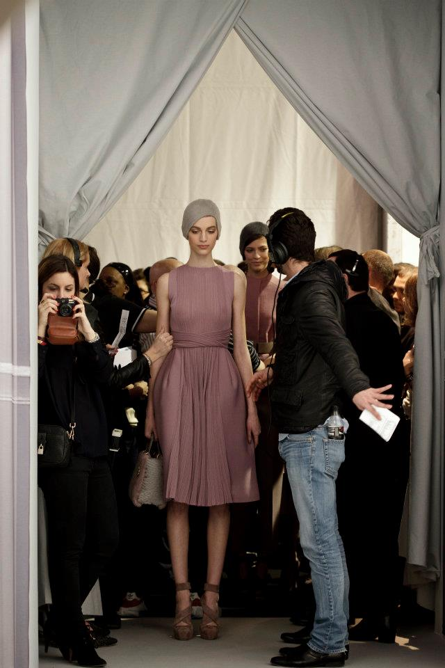 Dior Ready-To-Wear Backstage Fall-Winter 2012