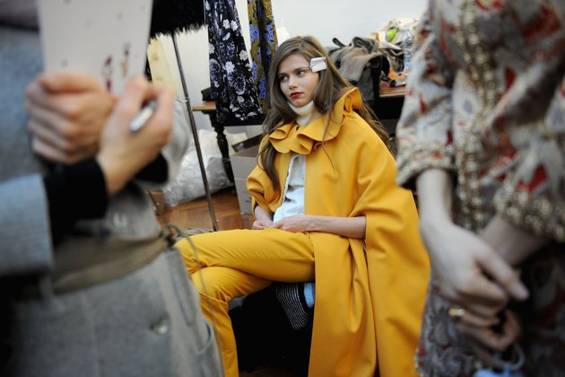 Normaluisa Backstage Fall-winter 2012 - Milan Fashion Week