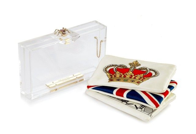 Charlotte Olympia's Pandora Clutch for the Queen's Jubilee 2012