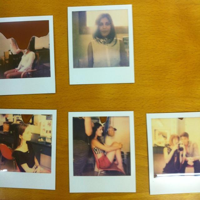 Photoshoot Making-Of - Eva Maria and We Love Unicorns - July 2012