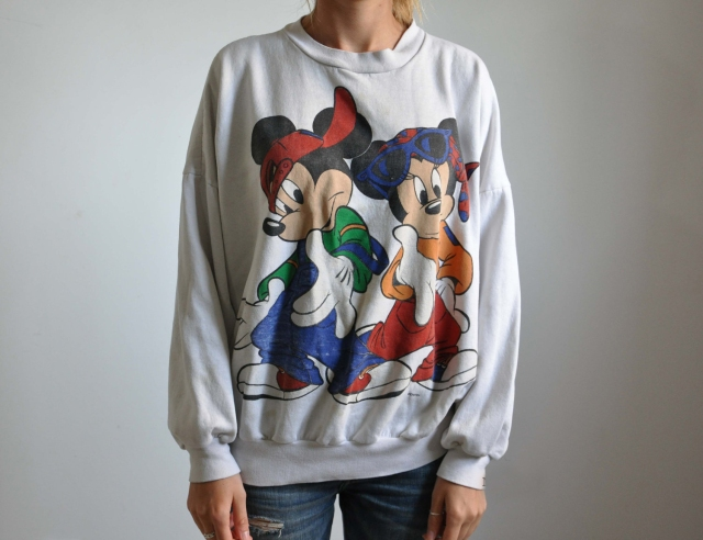 Disney's Mickey Mouse Sweatshirt from the 1990's