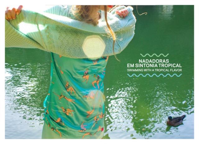 Eva Maria blogs about Bainha de Copas X Estudio Fera limited edition dresses