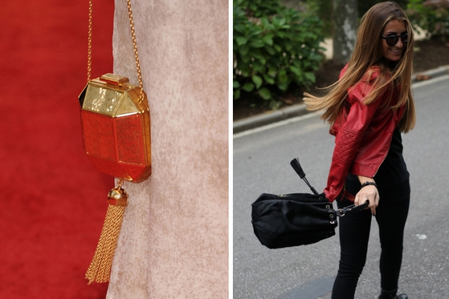 Louis Vuitton gold tassel clutch via coolspotters.com and bartabacmode.com