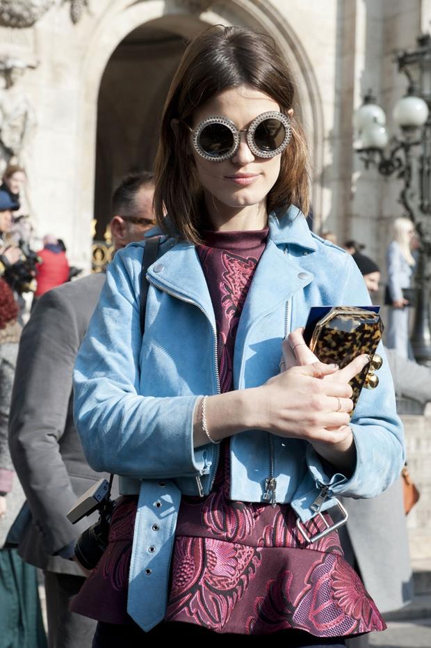 Paris Fashion Week FW2013 - Street Style
