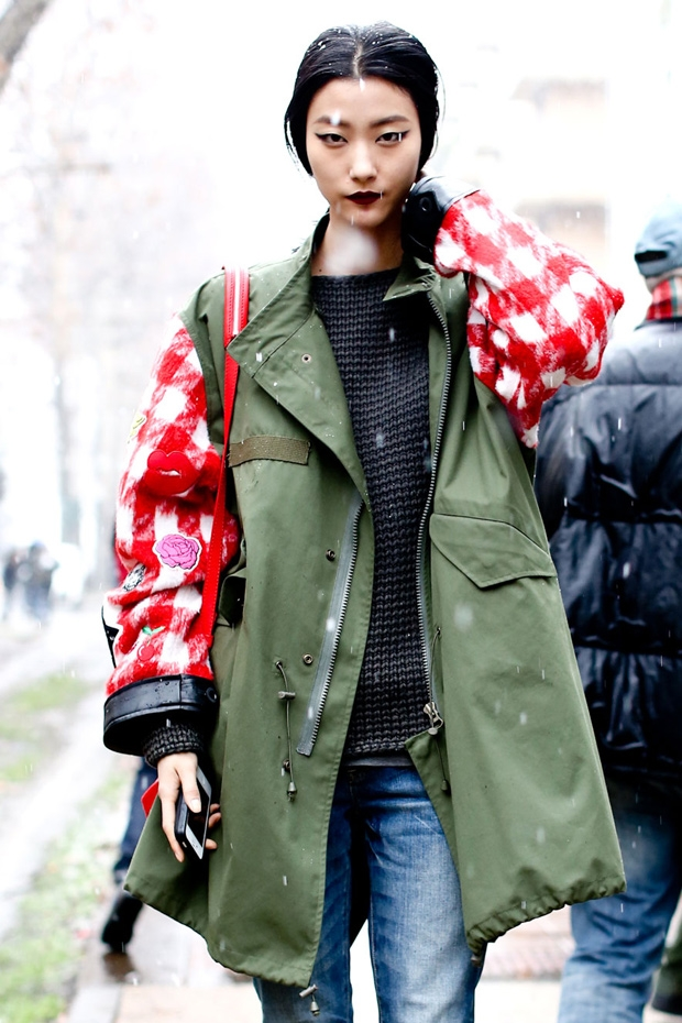 Milan Fashion Week FW2013 - Street Style
