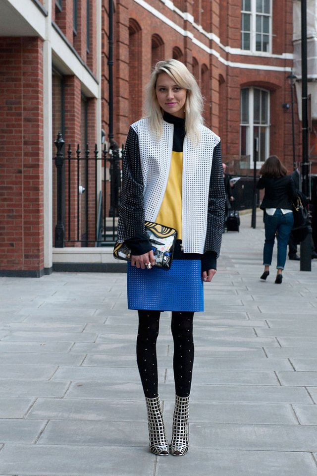 London Fashion Week FW2013 - Street Style
