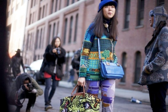 New York Fashion Week FW2013 - Street Style