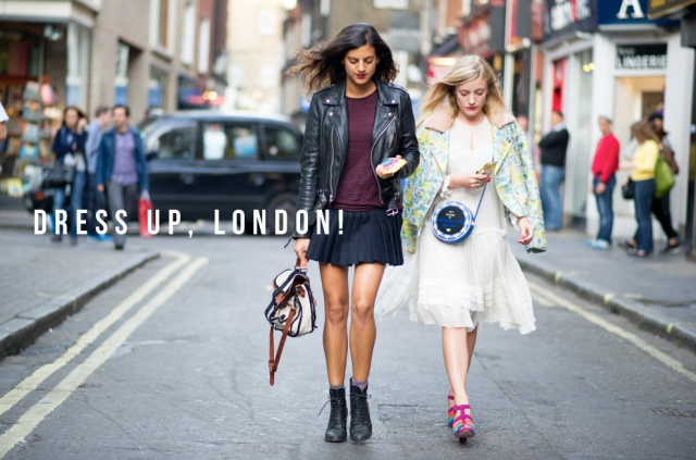 "Massenet says ""Dress up, London!"" for this SS14 Fashion Week"